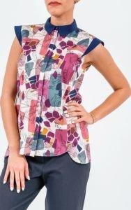 Дамски блузи с къс ръкав 2