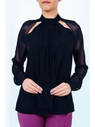 Schwarze Bluse 3