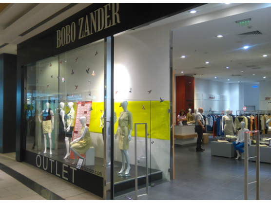 Bobo Zander, The Mall